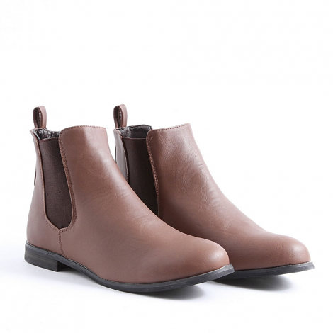 Pattricia Chelsea Boots In Brown