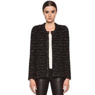 Iona Cowens Knit Jacket in Anthracite