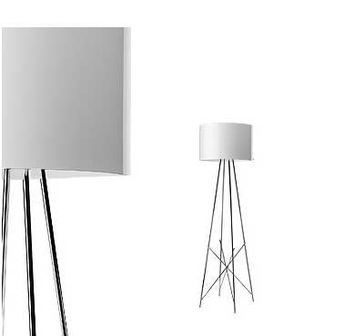Flos Ray F1 Floor Light White
