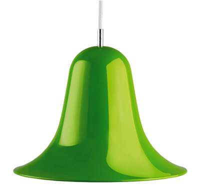 Verpan pantop pendant light green