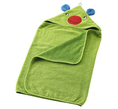 Barnslig baby towel with hood