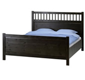 Hemnes bed frame with slatted bed base