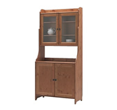 Leksvik buffet with top cabinet