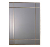 Frameless mirror - gold
