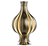 Verpan onion table lamp satin finish