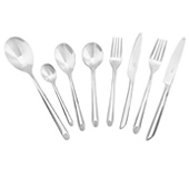 Stellar raglan 44 pce polished cutlery gift set
