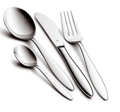 Stellar tintagel 44 pce polished cutlery gift box set