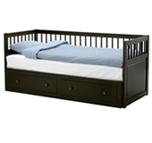 Hemnes day-bed frame with 2 drawers
